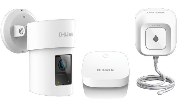 D-Link's latest smart home gear wants to keep you safe and dry