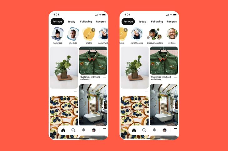 Pinterest has stories now too, because everyone needs a step-by-step guide to your latest pho or crochet