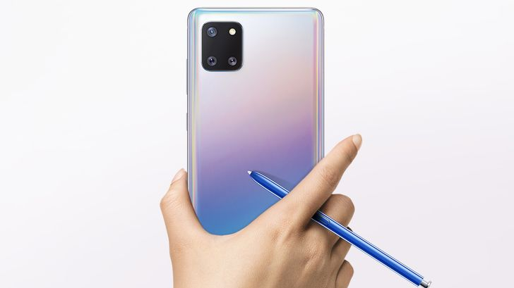 Samsung's Galaxy Note10 Lite is next in line for Android 11