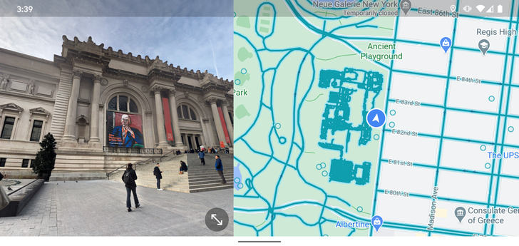 Split-screen Street View finally arrives on Google Maps for Android (APK Download)