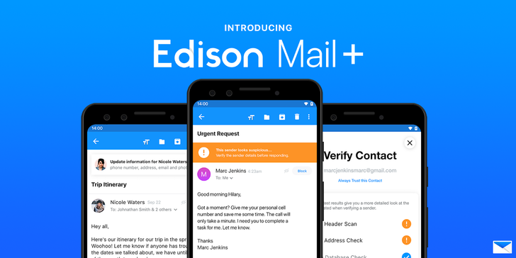 Edison Mail adds advanced spam and phishing detection, but it'll cost you