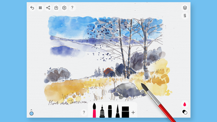 Chromebook owners can get a popular drawing app for free right now
