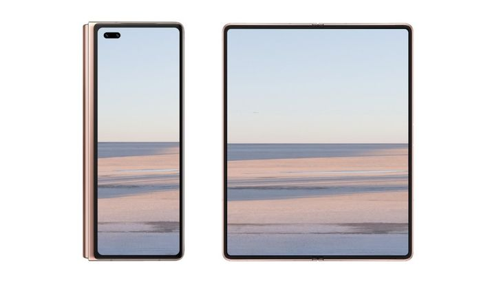Huawei may have realized it's doing folding screens backwards, could switch to inward fold for the Mate X2