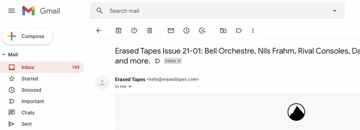 Gmail لاختبار سطح المكتب الرموز التي تم تعديلها بمهارة ا