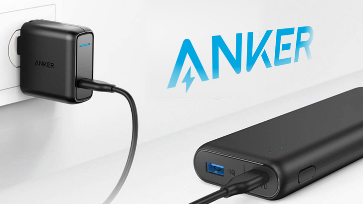 Anker's 20,000mAh USB-C PD power bank is $50 ($16 off), comes with 30W wall charger and cable