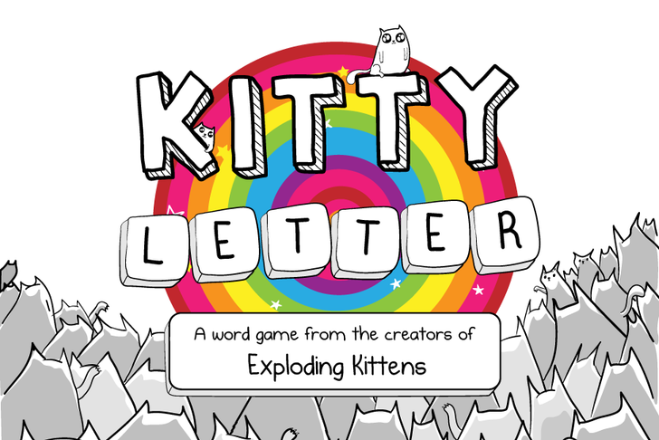 Kitty Letter is a cat-themed 'words with enemies' game by the creator of The Oatmeal
