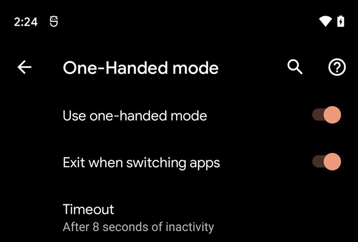 Android 12 has an iPhone-style one-handed mode
