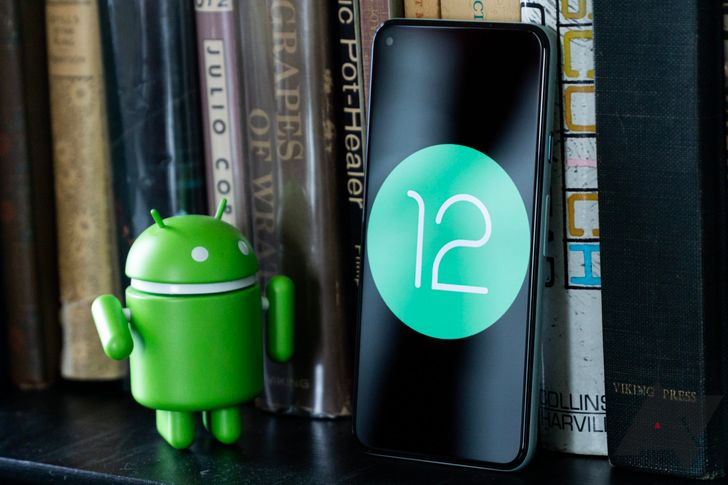 Android 12 Developer Preview 3 literally cuts corners