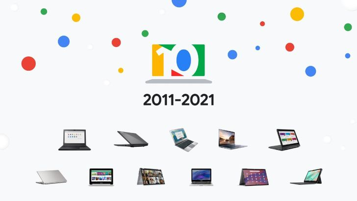Chromebooks have changed a lot over the last ten years