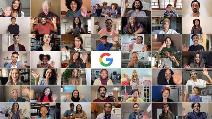 Google Meet's tile view is coming to Android very soon