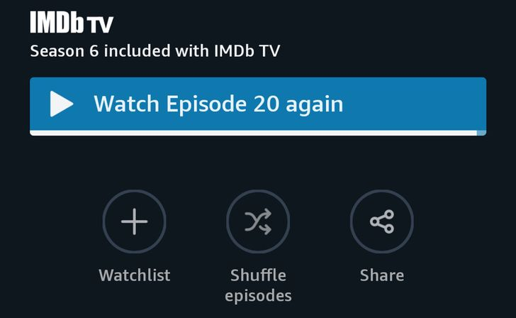 Amazon Prime Video app gets a shuffle button for TV episodes