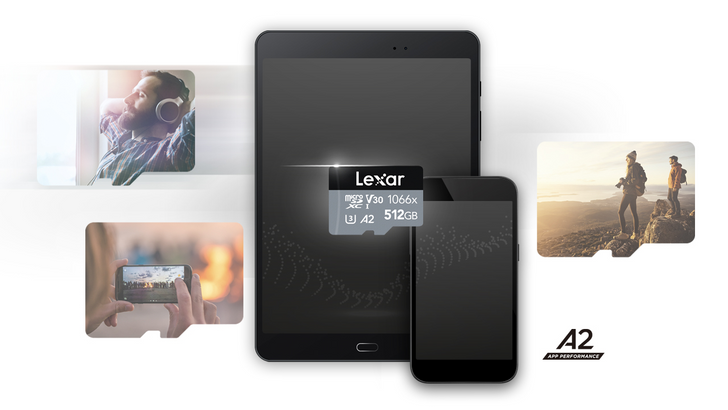Plump out your aging phone's expandable storage with a Lexar microSD card for up to 37% off