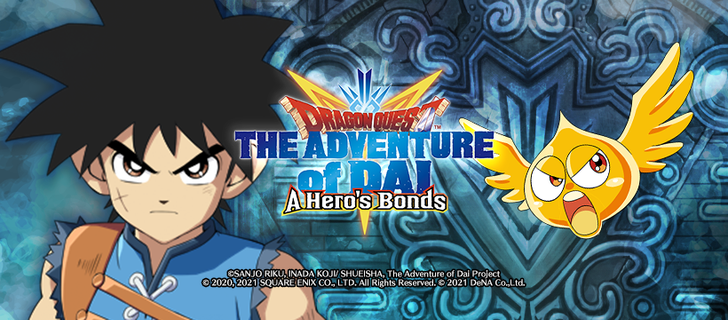 Dragon Quest The Adventure of Dai: A Hero's Bonds is coming to the US, pre-registration now available