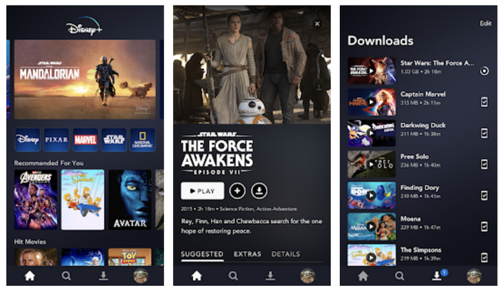 Disney+ passes 100 million installs on the Play Store after just 16 months