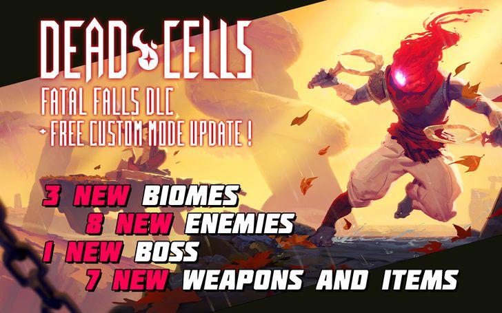 Dead Cells celebrates new Fatal Falls DLC with a 50% off sale