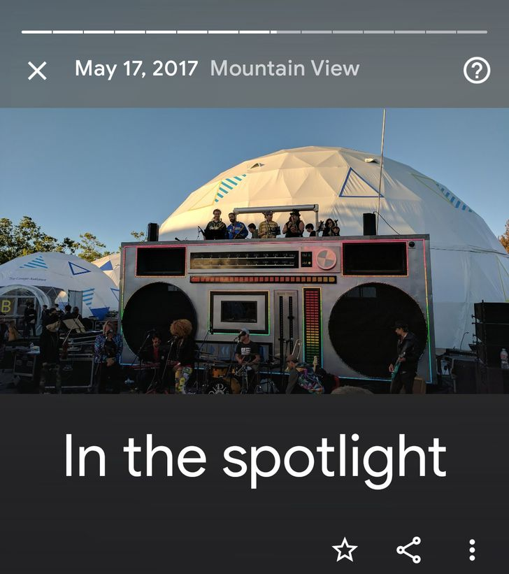 Google Photos adds 'In the spotlight' memory for shows and concerts