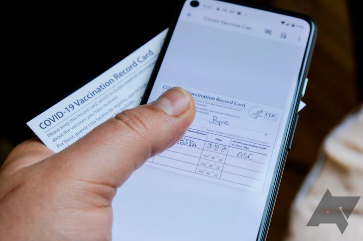 How to save and instantly access your Covid vaccine card on your phone
