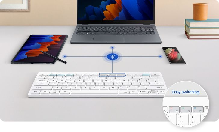 Samsung's Apple-looking Bluetooth keyboard for DeX is now official