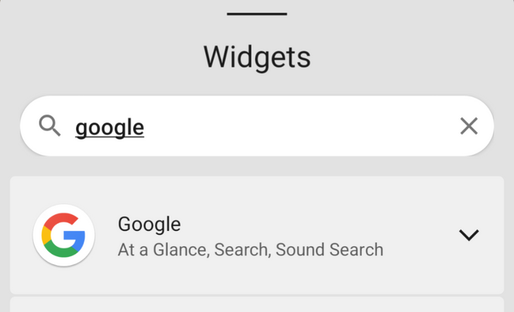 Android 12 DP3 adds a search bar to its redesigned widget picker on Pixels