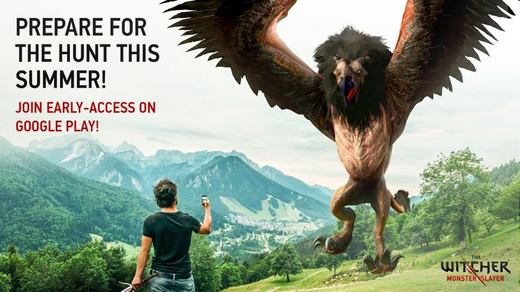 Registration is open for early access to The Witcher mobile game