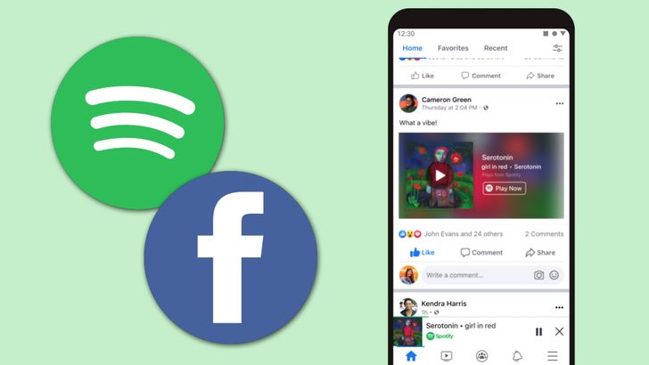 Spotify is about to get all up in your Facebook app