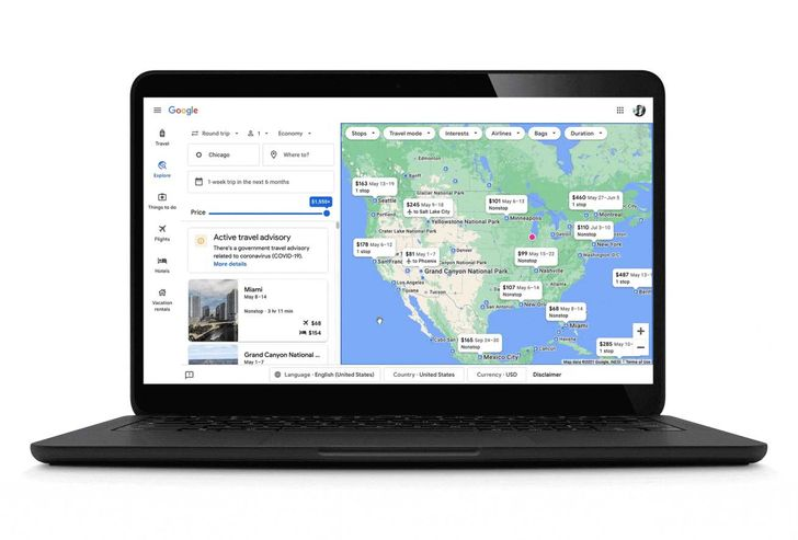 Google's new travel tools are designed to help plan your next vacation safely