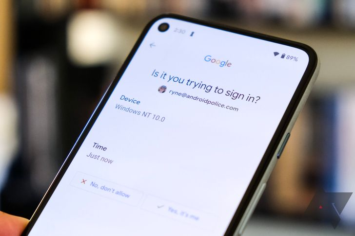 Your Google account is going to take two steps to sign in whether you want it or not