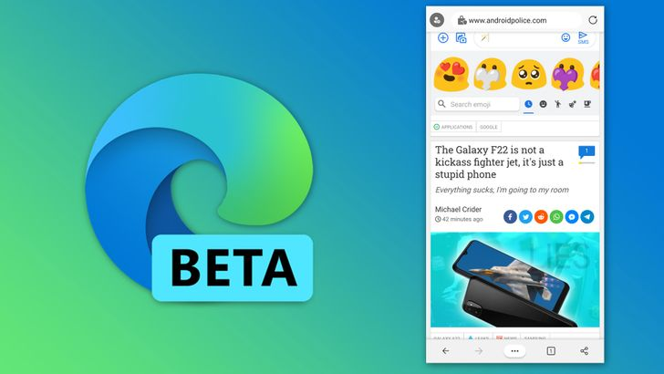 Edge Beta completes Microsoft's trifecta of pre-release mobile browsers