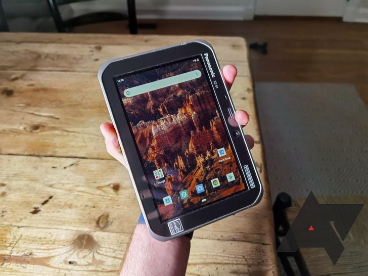 """Panasonic built a 7"""" Android tablet that's basically made for me"""