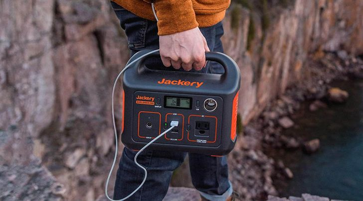 Pick up the Jackery Explorer 240 power station for less than a nice pair of headphones