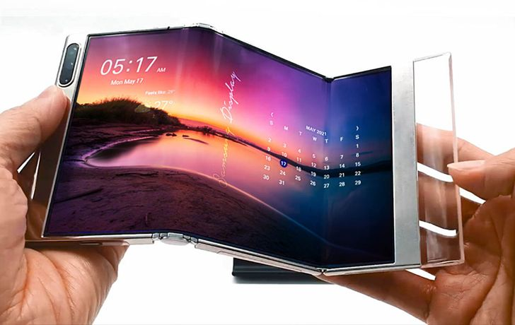 Samsung shows off its newest OLED tech in a crazy concept video