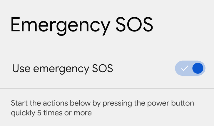 Android 12's new Emergency SOS feature is back in Beta 1