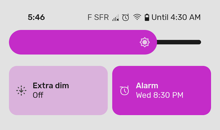 Android 12 Beta 1 changes the way you'll set your alarms for the next day
