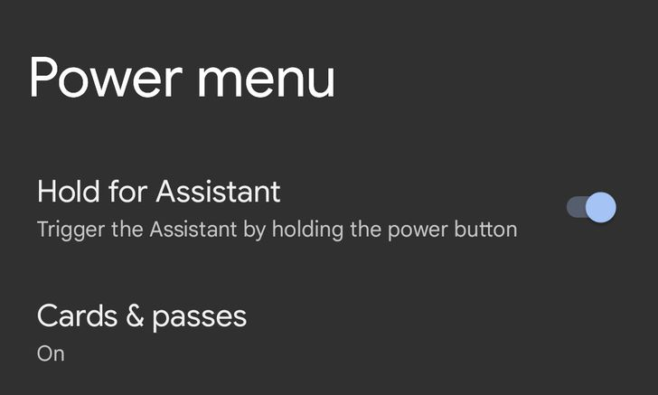 Android 12's power button doesn't activate Assistant by default — yet