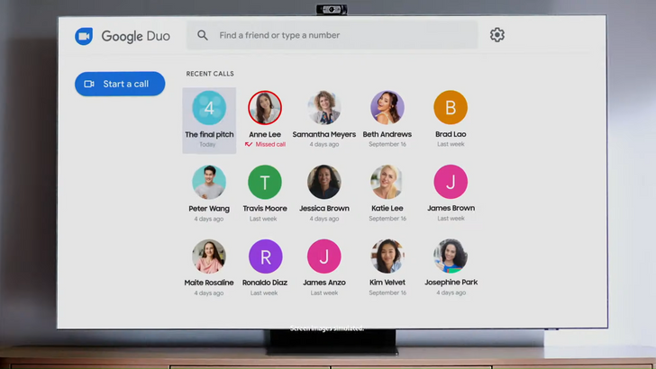 Oh god: Your parents can video call your next Samsung TV