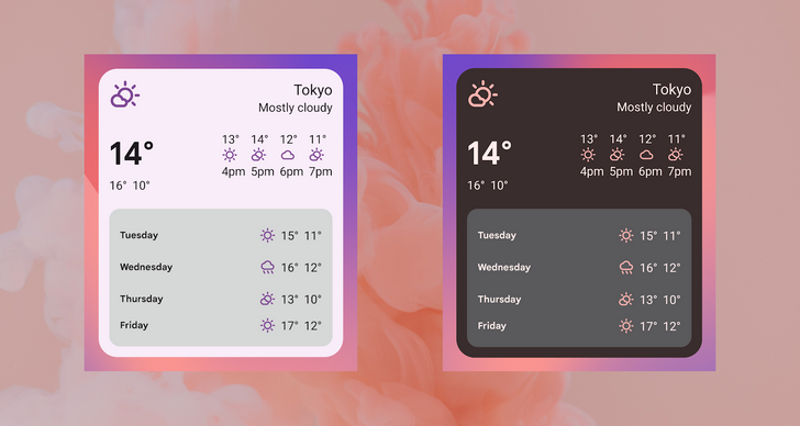 Apple forced Google to re-think widgets for Android 12