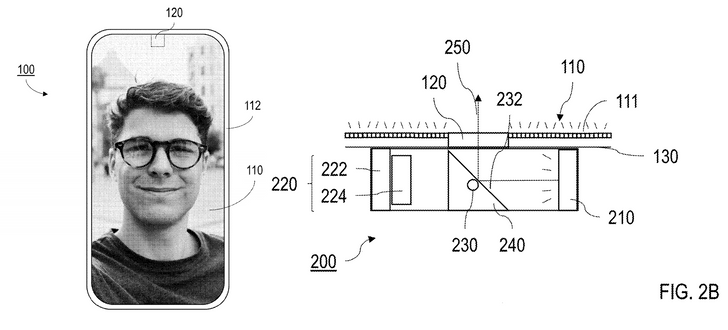 Google's patent for an in-display camera works like a magic trick