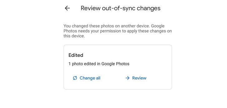 Google is finally fixing those 'out of sync' prompts in Photos on Android 12