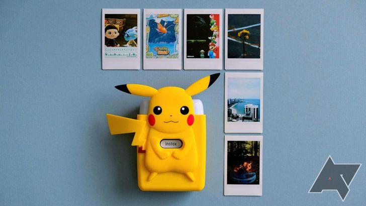 Fuji's new Pokémon-themed mobile printer is a nostalgic Nintendo Switch accessory and I love it