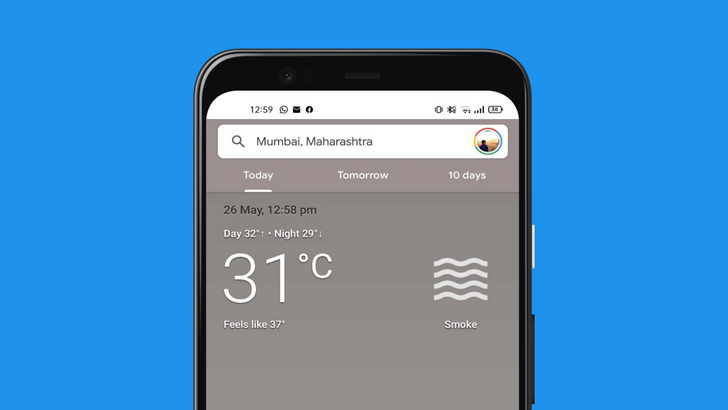 Google Weather's UI redesign is now live for everyone