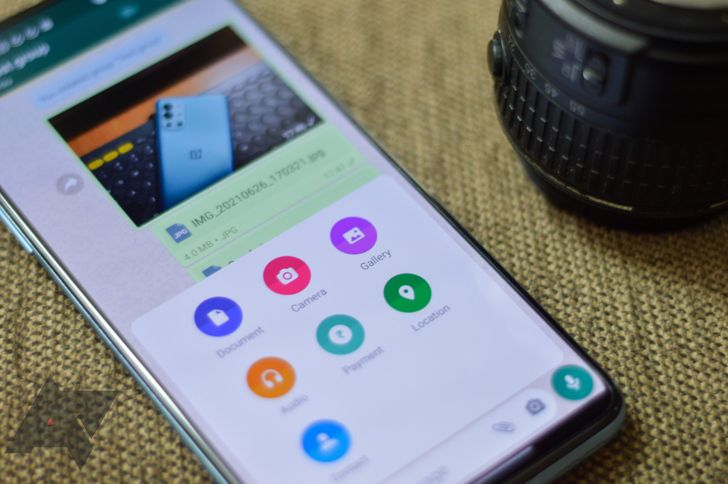 How to send full-size images and videos on WhatsApp