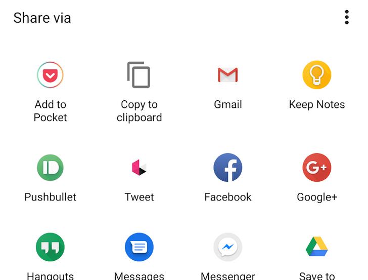 Android 12 положит конец замене сторонних общих листов