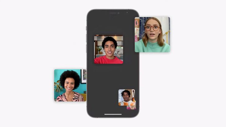 iOS 15 brings spatial audio, SharePlay, and grid view to FaceTime