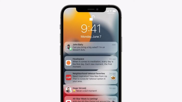 iPhones start playing catch-up with Android's notifications in iOS 15 redesign