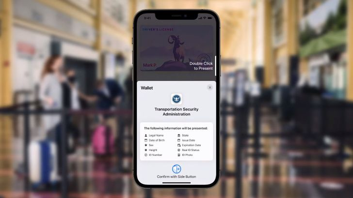Apple's iOS 15 Wallet app will get you through TSA checkpoints with digital IDs