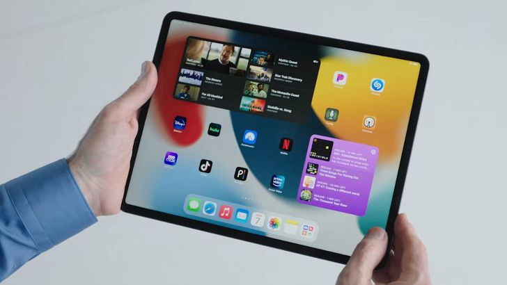 iPadOS 15 adds Android-style homescreen widgets and powerful multitasking tools