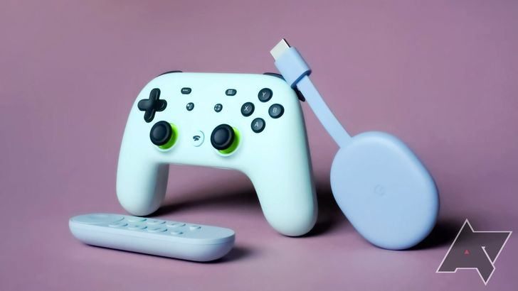 Stadia is live for Android TV, and Google is celebrating with half off controllers