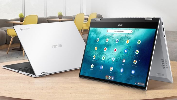 Save $130 on a 15-inch touchscreen Asus Chromebook with the latest Intel processor