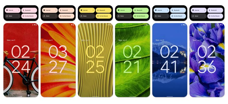 Look at how flexible (and colorful) Android 12's new UI theming is in this gallery
