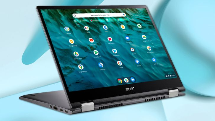 The updated Acer Chromebook Spin 713 with 11th-gen Intel processors is now available